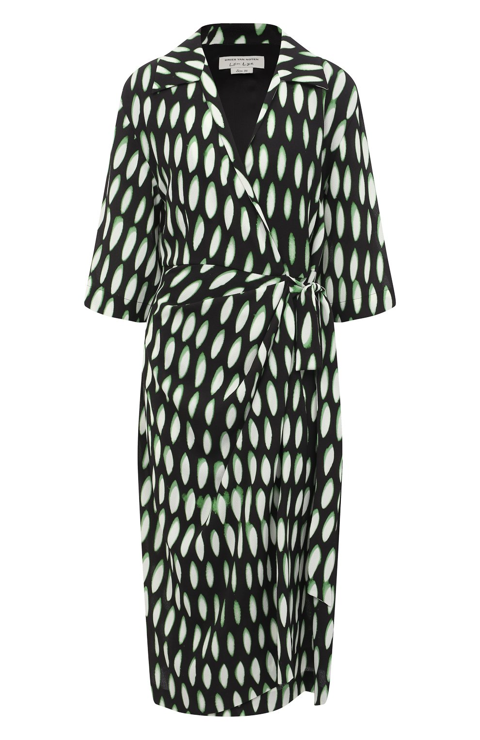 Женское платье DRIES VAN NOTEN черного цвета, арт. 211-31009-2010 | Фото 1