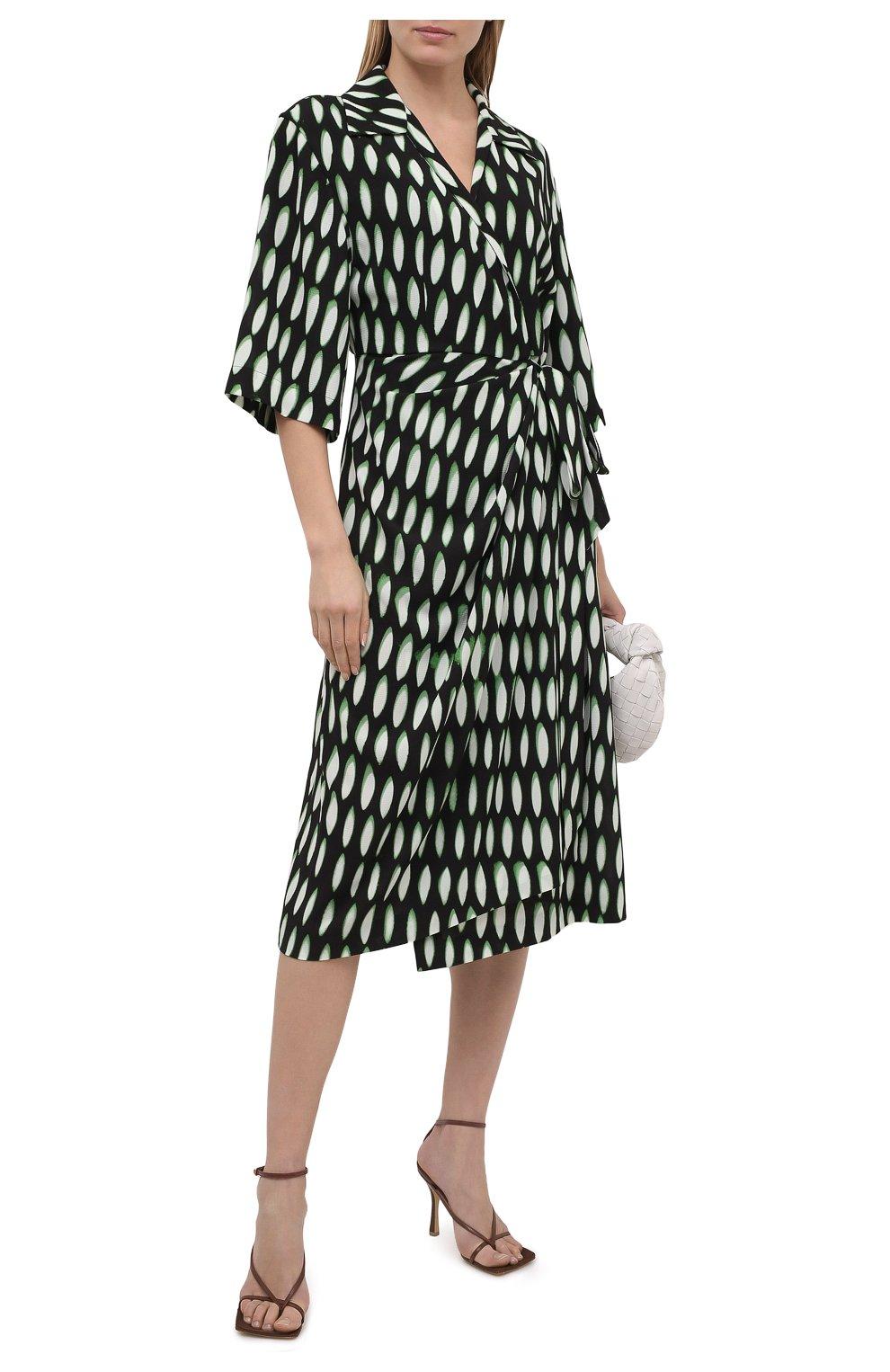 Женское платье DRIES VAN NOTEN черного цвета, арт. 211-31009-2010 | Фото 2