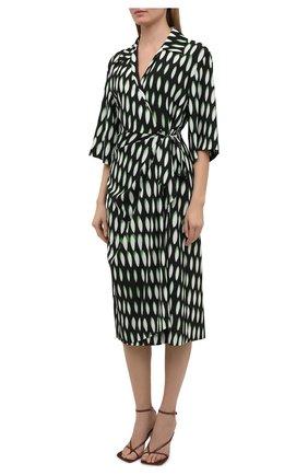 Женское платье DRIES VAN NOTEN черного цвета, арт. 211-31009-2010 | Фото 3