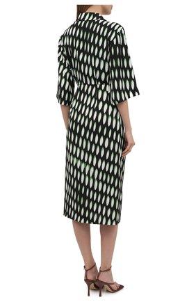Женское платье DRIES VAN NOTEN черного цвета, арт. 211-31009-2010 | Фото 4