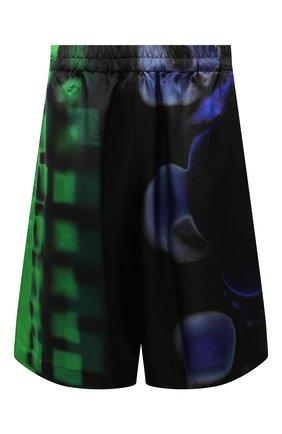 Женские шорты из вискозы DRIES VAN NOTEN разноцветного цвета, арт. 211-30954-2068 | Фото 1