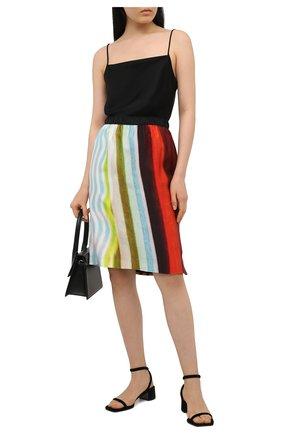 Женская юбка из вискозы DRIES VAN NOTEN разноцветного цвета, арт. 211-30833-2092 | Фото 2