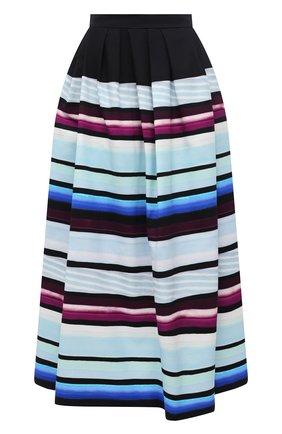 Женская юбка из хлопка DRIES VAN NOTEN разноцветного цвета, арт. 211-30804-2019 | Фото 1
