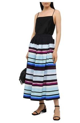 Женская юбка из хлопка DRIES VAN NOTEN разноцветного цвета, арт. 211-30804-2019 | Фото 2