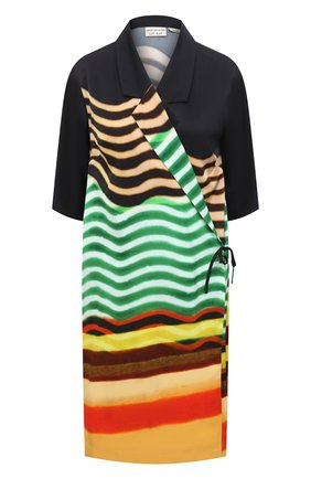 Женское платье из вискозы DRIES VAN NOTEN разноцветного цвета, арт. 211-30713-2092 | Фото 1