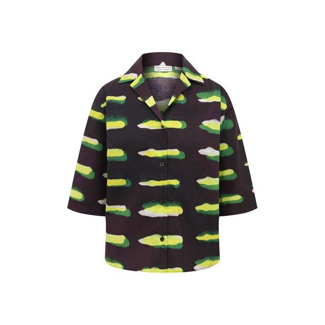 Хлопковая рубашка Dries Van Noten