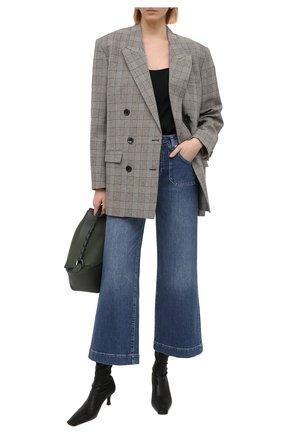 Женские джинсы PAIGE синего цвета, арт. 6410B61-2634 | Фото 2