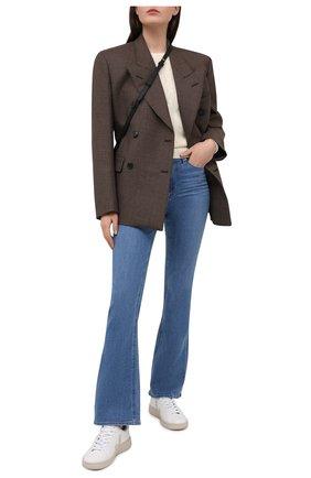 Женские джинсы PAIGE голубого цвета, арт. 6487F46-3317 | Фото 2
