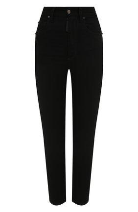 Женские джинсы DSQUARED2 черного цвета, арт. S75LB0485/S30730 | Фото 1