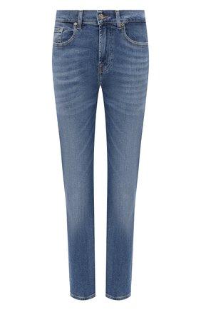 Женские джинсы 7 FOR ALL MANKIND голубого цвета, арт. JSDTB250IR | Фото 1