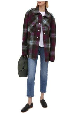 Женские джинсы 7 FOR ALL MANKIND голубого цвета, арт. JSDTB250IR | Фото 2