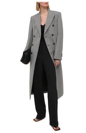 Женское шерстяное пальто WARDROBE.NYC черно-белого цвета, арт. W4010HTR05 | Фото 2