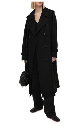 Женский хлопковый тренч WARDROBE.NYC черного цвета, арт. W4009R04 | Фото 2