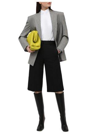 Женский шерстяной жакет WARDROBE.NYC серого цвета, арт. W4007PWPC | Фото 2