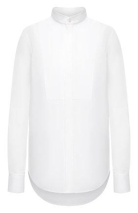 Женская хлопковая рубашка WARDROBE.NYC белого цвета, арт. W1022R05 | Фото 1