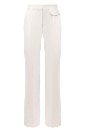 Женские шерстяные брюки VICTORIA BECKHAM бежевого цвета, арт. 1121WTR002209A | Фото 1