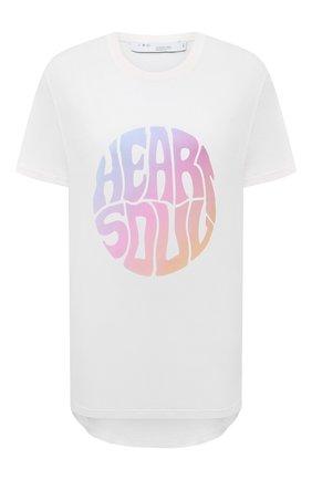 Женская футболка IRO белого цвета, арт. WP19HEARTS0 | Фото 1