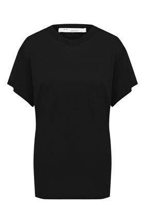 Женская льняная футболка IRO черного цвета, арт. WP19HINT0N | Фото 1