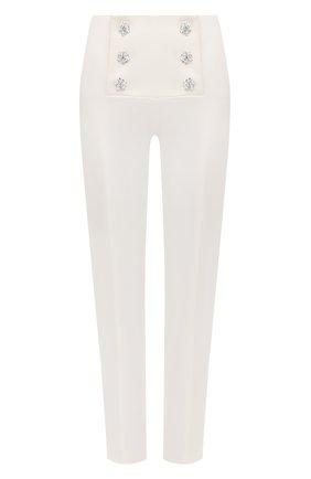 Женские брюки GIUSEPPE DI MORABITO белого цвета, арт. SS21024PA-109 | Фото 1