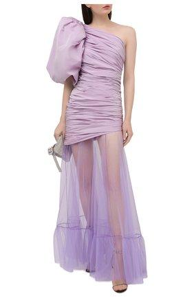 Женское платье GIUSEPPE DI MORABITO сиреневого цвета, арт. SS21047LD-84   Фото 2