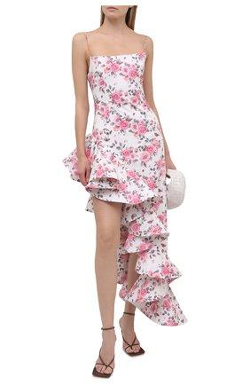 Женское платье GIUSEPPE DI MORABITO светло-розового цвета, арт. SS21178DR-126-ST12 | Фото 2