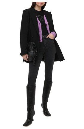 Женские джинсы GRLFRND темно-серого цвета, арт. GF42779501488 | Фото 2