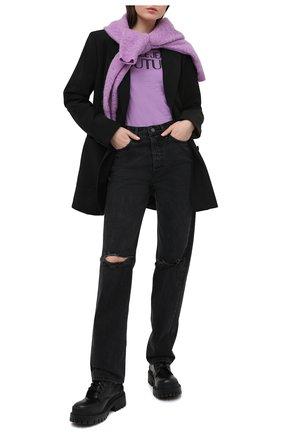 Женские джинсы GRLFRND темно-серого цвета, арт. GF42509511499 | Фото 2