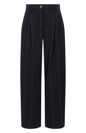 Женские джинсы GIORGIO ARMANI темно-синего цвета, арт. 1SHPP0H1/T02FI | Фото 1