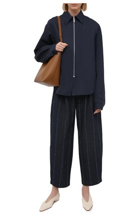 Женские джинсы GIORGIO ARMANI темно-синего цвета, арт. 1SHPP0H1/T02FI | Фото 2