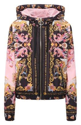 Женская куртка VERSACE JEANS COUTURE разноцветного цвета, арт. C9HWA975-WDP401/25192 | Фото 1