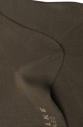 Мужские хлопковые носки tiago FALKE хаки цвета, арт. 14662 | Фото 2
