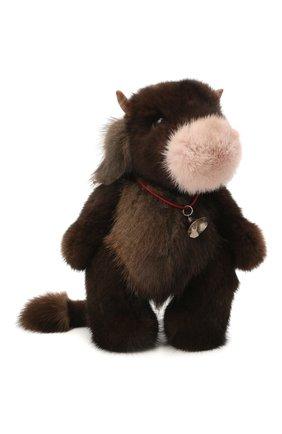 Детского игрушка бычок CAROLON коричневого цвета, арт. Ц-0456/110121 | Фото 1