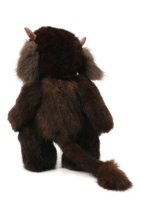 Детского игрушка бычок CAROLON коричневого цвета, арт. Ц-0456/110121 | Фото 2