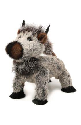 Детского игрушка бык CAROLON серого цвета, арт. Ц-0439/110121 | Фото 1
