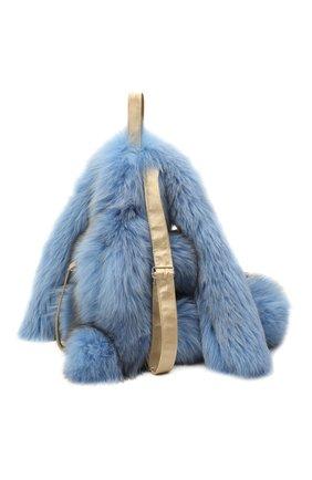 Детского рюкзак заяц CAROLON голубого цвета, арт. Ц-0460/110121 | Фото 2