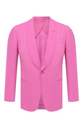 Мужской шелковый пиджак RALPH LAUREN розового цвета, арт. 798829733 | Фото 1