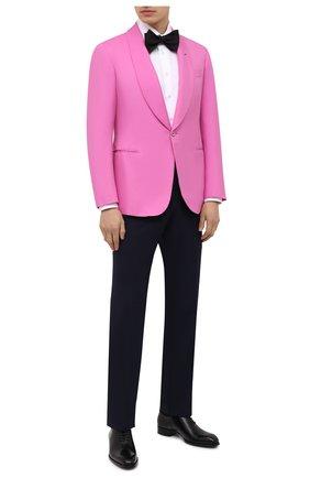Мужской шелковый пиджак RALPH LAUREN розового цвета, арт. 798829733 | Фото 2