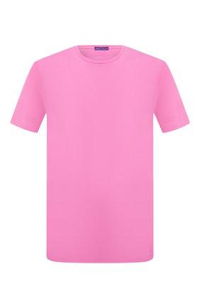 Мужская хлопковая футболка RALPH LAUREN розового цвета, арт. 790508153 | Фото 1