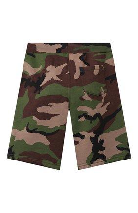 Детские хлопковые шорты POLO RALPH LAUREN хаки цвета, арт. 323832971   Фото 2