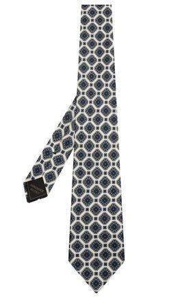 Мужской комплект из галстука и платка BRIONI белого цвета, арт. 08A900/P042H | Фото 2