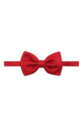 Мужской шелковый галстук-бабочка BRIONI красного цвета, арт. 01L200/PZ416 | Фото 1
