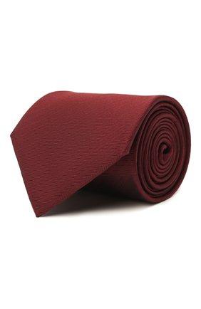 Мужской шелковый галстук BRIONI бордового цвета, арт. 062I00/08435 | Фото 1