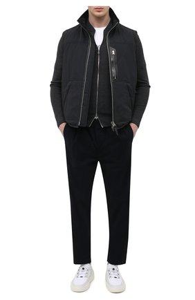 Мужские брюки 7 FOR ALL MANKIND темно-синего цвета, арт. JSCJB560NV | Фото 2