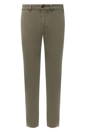 Мужские хлопковые брюки 7 FOR ALL MANKIND хаки цвета, арт. JSU9T490LA | Фото 1