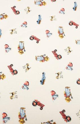 Детского хлопковое одеяло POLO RALPH LAUREN разноцветного цвета, арт. 320799094 | Фото 2