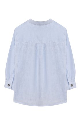 Детский хлопковая рубашка TARTINE ET CHOCOLAT светло-голубого цвета, арт. TS12081/18M-3A | Фото 2