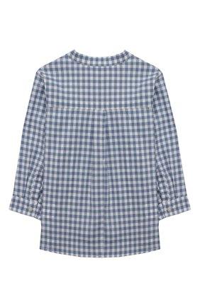 Детский хлопковая рубашка TARTINE ET CHOCOLAT синего цвета, арт. TS12141/1M-1A   Фото 2