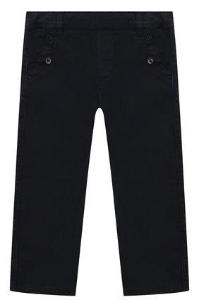 Детские хлопковые брюки TARTINE ET CHOCOLAT темно-синего цвета, арт. TS22051/1M-1A   Фото 1