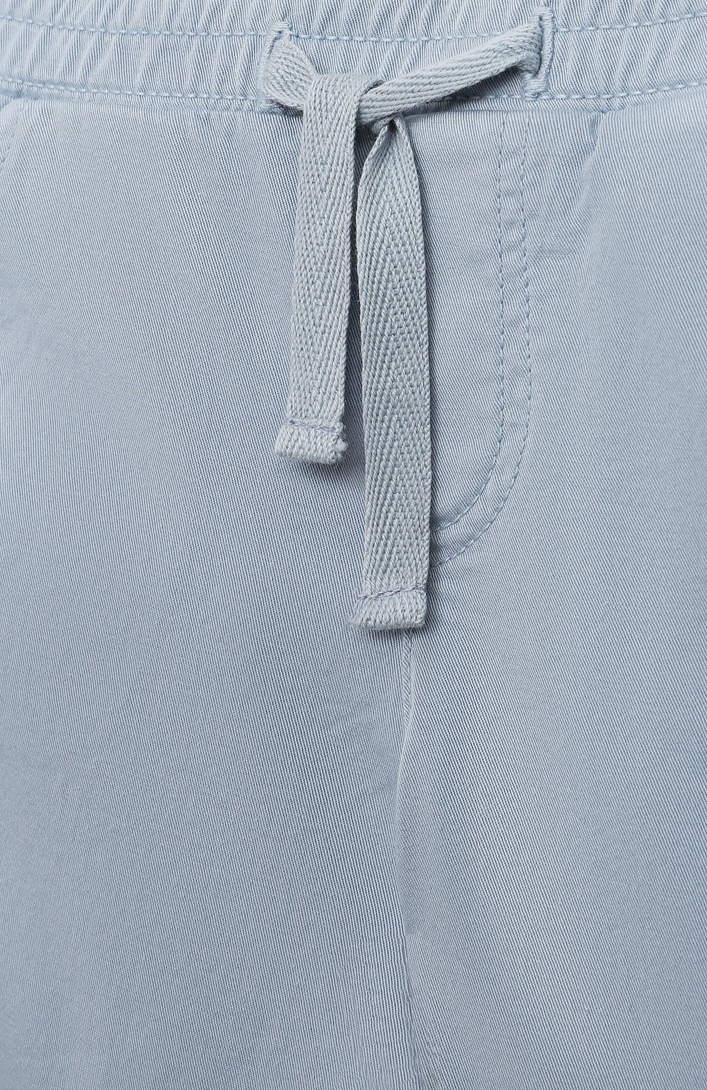 Детские хлопковые брюки TARTINE ET CHOCOLAT голубого цвета, арт. TS22061/1M-1A   Фото 3