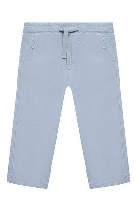 Детские хлопковые брюки TARTINE ET CHOCOLAT голубого цвета, арт. TS22061/18M-3A | Фото 1